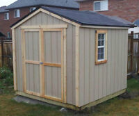 Wooden Storage Sheds - Many Sizes & Options - From $499