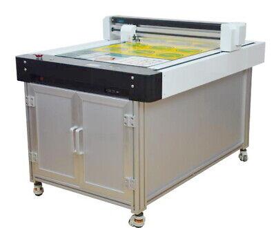 New 60cmx90cm Flatbed Cnc Cutter Plotter Contour Cutting Film Vinyl Paper Signs