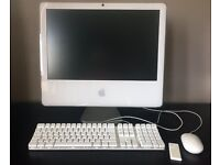 APPLE IMAC 20inch 2.16ghz Core2Duo Late 2006 running Snow Leopard OSX 10.6.3
