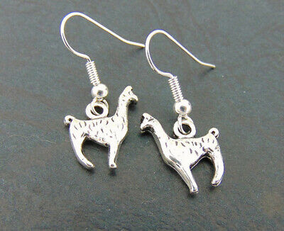 Llama Earrings Silver,Animal Earrings,Silver Earring, Earrings - Llama Jewelry