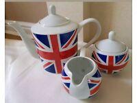 Union Jack Tea Set