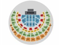 2 X Factor Live Tickets, Thursday 01 March 2018 SSE Hydro (£81ono) - Block 215, Row A, Seats 235-236