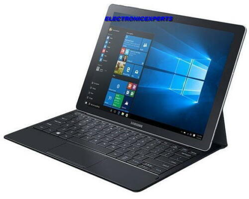 Samsung Galaxy TabPro S SM-W703 12in Tablet Pc Win10pro 128GB SSD Black
