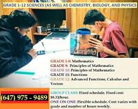 Math AND Science Tutor for Affordable Prices - Scarborough Only