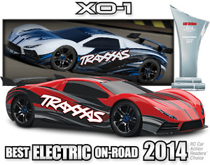 1/7 Traxxas X0-1 with a Speed of 160km/h!!!