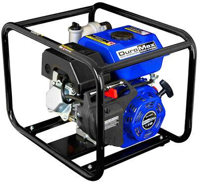 DuroMax XP652WP 2'' Portable 7 HP Gas Power Water Trash Pump NPT Threaded