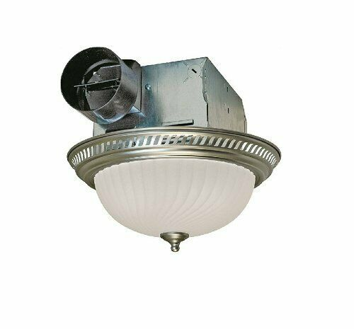 Bathroom Vent Fan With Light Air Exhaust Ventilation Bath Ce