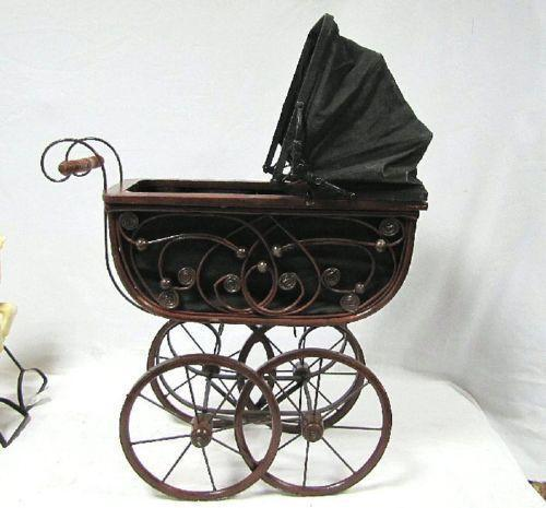 Antique Doll Carriage Ebay