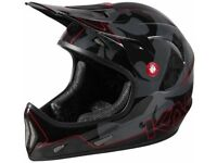 Kali Protectives Avatar Black and Red Small Full Face helmet. Brand new.