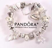 Authentic Pandora Crystal Charms