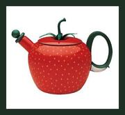 Strawberry Tea Kettle