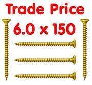 150mm Wood Screws