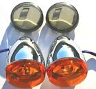 Chrome Bullet Turn Signals