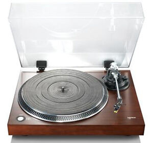 Lenco L-90 Wooden Turntable with USB Recording & Built-In Pre-Amplifier