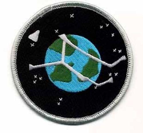 "Stargate Atlantis Project Planet Logo  3.5"" Uniform Patch-USA Mailed  (SGPA-23)"
