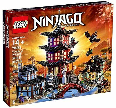 New Lego 70751 Ninjago Temple Of Airjitzu