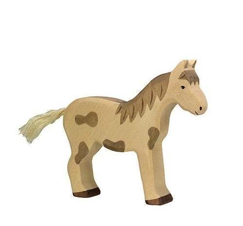 Schaukelpferd Holz Geschnitzt ~ Pferd Aus Holz  eBay