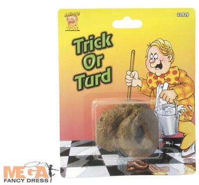 Brown Curly Dog Poo Fake Turd Practical Joke Novelty Prank Trick or Treat