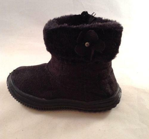 Baby Girl Black Boots