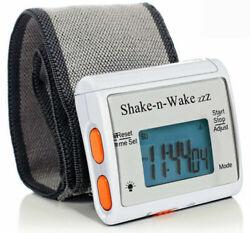 Tech Tools Shake-n-Wake Silent Vibrating Alarm Wrist Watch  TPI-107