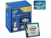 NEW Intel Core I5-4590 CPU Processor Quad Core Socket 1150 84W 3.3GHz > 3.7GHZ 6MB Cache