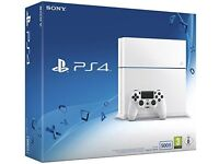 Sony PS4 Slim Glacier White 500gb and Sony PS VR Headset with games included