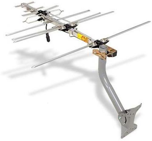 compact outdoor yagi hdtv antenna with 70