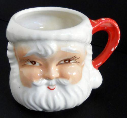 Santa Face Mugs Ebay