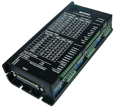 Cnc 3-axis Dsp Based Digital Stepper Driver Max 60 Vdc 6.0a