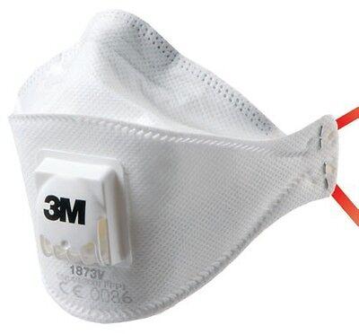 20 x 3M 1873V FFP3 Valved Dust Masks / Respirators