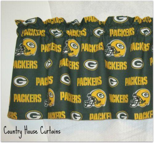 Green Football Curtains Ebay