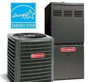 GOODMAN Furnaces & ACs - Rent to Own +up to 2100 in REBATES!!