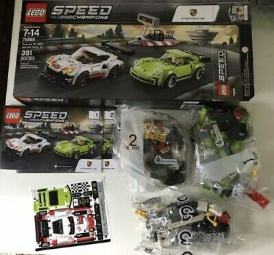 Lego Speed Champions Porsche 911 RSR & 911 Turbo 3.0 75888 opened but sealed bag
