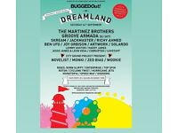 2X BUGGED OUT TICKETS 24TH SEPTEMBER DREAMLAND MARGATE KENT