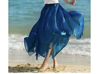 Summer beach skirt