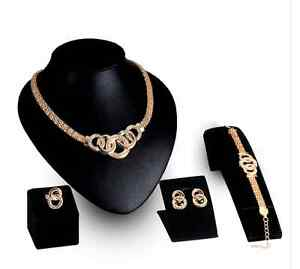 Brand New gold plated jewlery set!!