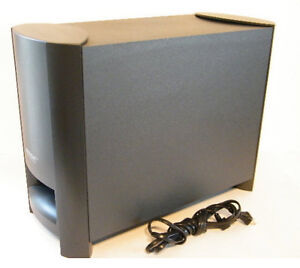 how to put a power cord on subwoofer