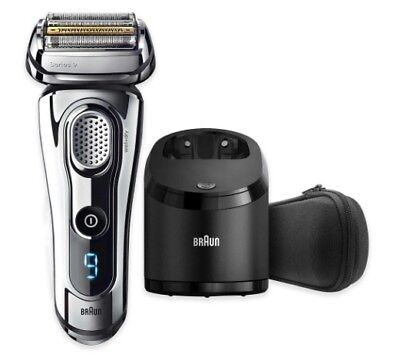 Braun Series Wet Dry Electric Shaver, Beard Trimmer, Chrome, Mens, Rechargeable
