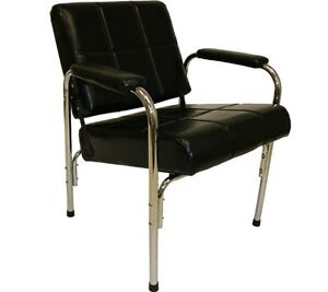 Automatic Recline Shampoo Chair with Steel Frame & Cross-Hatch S