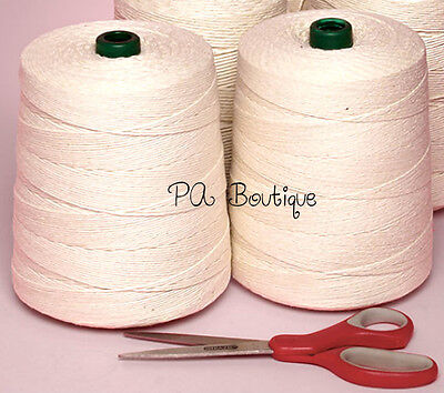 Natural White Unpolished 6-ply 100% Cotton Baker's Twine *Your Choice of - Bakers Twine