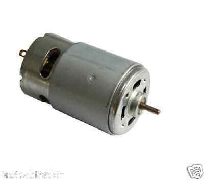 Rs-550 Motor 18v 12 - 20 Volt Dc 20k Rpm Torque Drill Robot Electric Round Shaft