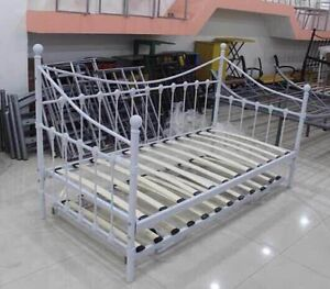 Quality metal day bed w/slats Brand NEW 60%off closing down IKEA Chatswood Willoughby Area Preview