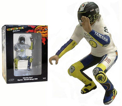 Minichamps Valentino Rossi Riding Figurine Motogp Motegi 2008 - 1/12 Scale