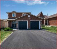 **NE Barrie Detached 3 beds, DB car Garage, IMM., ONE YEAR +