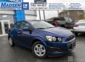 2013 Chevrolet Sonic LT FWD 4 DOOR