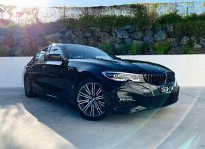 2019 BMW 3 Series G20 320i Steptronic M Sport Black 8 Speed Sports Automatic Sedan Southport Gold Coast City Preview