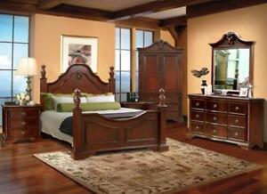 8 PCS QUEEN BEDROOM SET ONLY FOR 3075$
