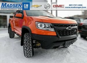 2019 Chevrolet Colorado ZR2 4WD CREW CAB 4 DOOR