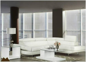 Store Wide Super SALE! IS ON @ REAL BUY FURNITURE 2 PCS LEATHER SECTIONAL