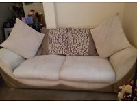 Beautiful cream Chanel sofa, Need a quick sale as I was let down. £125